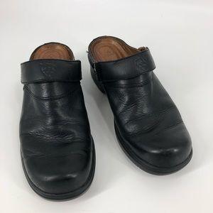 Ariat black mules 8.5